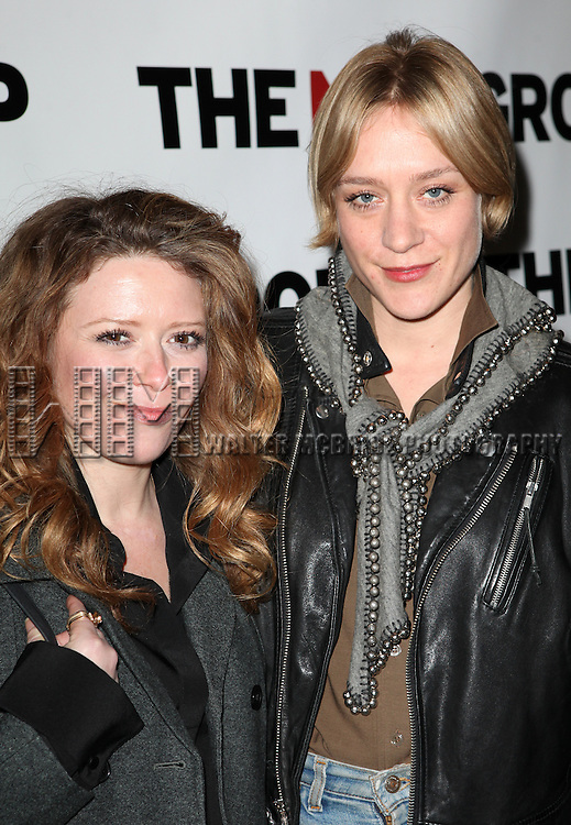 Natasha Lyonne & Chloe Sevigny attending Opening Night Party for the New Group World Premiere production of 'Clive' at the West Bank Cafe  in New York City on 2/7/2013
