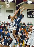Ledyard @ Xavier Varsity Boys Basketball 2014-15