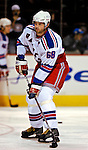 27 March 2007: New York Rangers right wing forward and Team Captain Jaromir Jagr of the Czech Republic warms up prior to a game against the Montreal Canadiens at the Bell Centre in Montreal, Quebec, Canada...Mandatory Photo Credit: Ed Wolfstein Photo *** Editorial Sales through Icon Sports Media *** www.iconsportsmedia.com