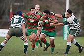 CMRFU Club Rugby 07 - Manurewa v Waiuku