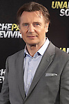 Irish actor Liam Neeson poses for photographers during the presentation of the film 'Run All Night' in Madrid on Tuesday, March 24, 2015. (ALTERPHOTOS / Nacho Lopez)
