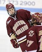 Cam Atkinson (BC - 13) - The Northeastern University Huskies defeated the Boston College Eagles 3-2 on Friday, February 19, 2010, at Matthews Arena in Boston, Massachusetts.