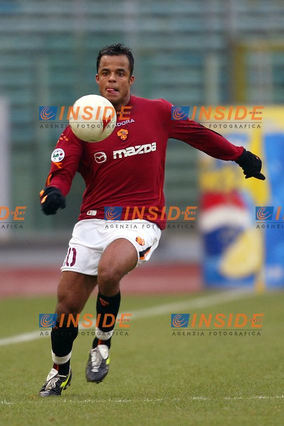 Roma 25/1/2004 <br /> Roma Udinese 1-1 <br /> Amantino Mancini (Roma) <br /> Foto Andrea Staccioli Insidefoto
