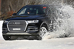 Audi Q7 at Mt Hotham Victoria on Wednesday, September 2nd 2015, Victoria, Australia.  (Photo: Steve Christo)