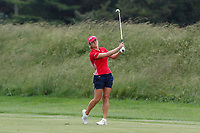 Celine Herbin (France) hits her second shot on the 3rd hole during the final round of the ShopRite LPGA Classic presented by Acer, Seaview Bay Club, Galloway, New Jersey, USA. 6/10/18.<br /> Picture: Golffile | Brian Spurlock<br /> <br /> <br /> All photo usage must carry mandatory copyright credit (&copy; Golffile | Brian Spurlock)
