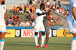 22 July 2016: Miami's Kwadwo Poku (GHA). The Carolina RailHawks hosted Miami FC at WakeMed Stadium in Cary, North Carolina in a 2016 North American Soccer League Fall Season game. The game ended in a 3-3 tie.