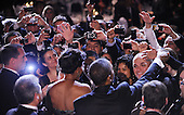United States President Barack Obama and First Lady greet the guest at the Congressional Hispanic Caucus Institute's 34th Annual Awards Gala at the Washington Convention Center in Washington, DC, September 14, 2011..Credit: Olivier Douliery / Pool via CNP