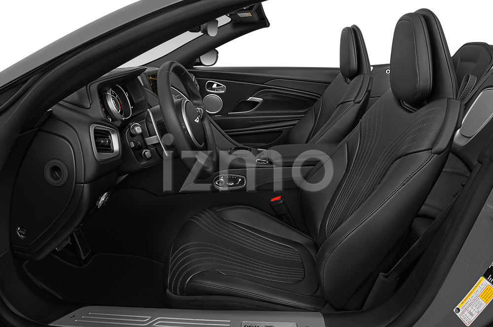 Front seat view of 2019 Aston Martin DB11-Volante - 2 Door Convertible Front Seat  car photos