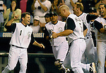 24 August 2007:  Colorado Rockies celebrate their 9th inning 6-5 victory over the  Washington Nationals at Coors Field, Denver Colorado.