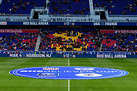 Harrison, NJ - Sunday March 04, 2018: Center Circle during a 2018 SheBelieves Cup match match between the women's national teams of the United States (USA) and France (FRA) at Red Bull Arena.