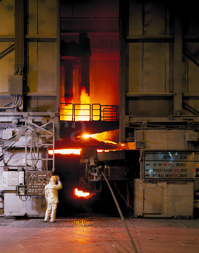 Steel factory, Korea
