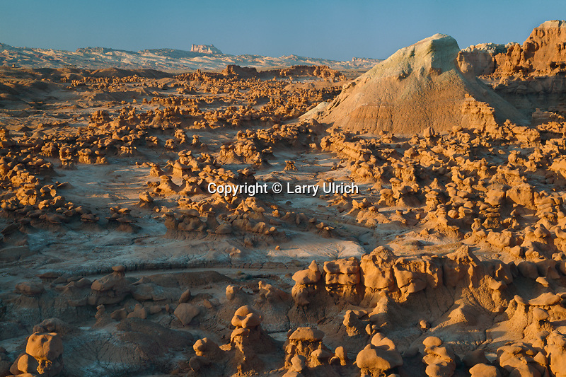 Eroded hoodoos<br />