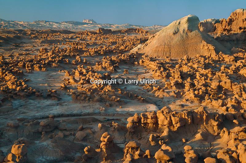 Eroded hoodoos<br /> Goblin Valley State Reserve<br /> Colorado Plateau,  Utah