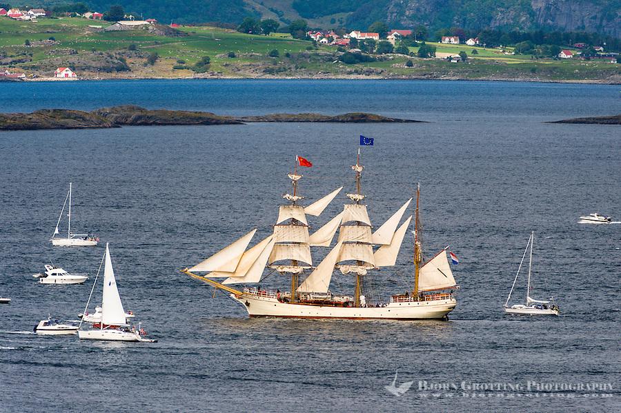 Norway, Randaberg. Tall Ships Race in Stavanger 2011. Europa.