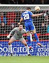 Adam Rooney of Swindon scores their third goal. Stevenage v Swindon Town - npower League 1 -  Lamex Stadium, Stevenage - 27th October, 2012. © Kevin Coleman 2012.