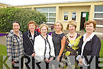 RETIRING: Joan Lyons (third from left) who retired as principal of St Joseph's national school in Ballybunion on Friday last with staff members, l-r: Maura Enright, Carmel Guiney, Grainne Lyons, Lily Morris, Noreen Griffin.