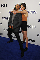 www.acepixs.com<br /> May 17, 2017  New York City<br /> <br /> Shemar Moore and Lina Esco attending the 2017 CBS Upfront party at The Plaza Hotel on May 17, 2017 in New York City.<br /> <br /> Credit: Kristin Callahan/ACE Pictures<br /> <br /> <br /> Tel: 646 769 0430<br /> Email: info@acepixs.com