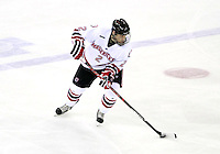 Nebraska-Omaha's Matt Smith. St. Cloud State and Nebraska-Omaha skated to a 2-2 tie on Nov. 27, 2011. (Photo by Michelle Bishop)