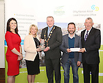 WITH COMPLIMENTS.  Attending the  Entrepreneur of the Year 2016 in the  Limerick Final of the National Enterprise Awards at a ceremony in the Dunraven Arms Hotel, Adare were  Cllr. Liam Galvin, Mayor of Limerick City and County Council who presented the award to EJS Plastics Barry and Annette  Madden winners of the Business with Best Development Potential award(centre). Also in the photograph are Ciara Finley, Local Enterprise Office Limerick and Eamon Ryan, Head of Enterprise, Local Enterprise Office Limerick. as regularly supplying summer festivals and health shops. Wellnice Pops are 100% vegetable &amp; fruit juice ice pops. They are the first of their kind in Ireland, providing a 100% natural ice pop. Wellnice Pops hope to start exporting to international markets in the future. <br />Best Development Potential &ndash; EJS Plastics was established by Barry and Annette Madden in 2012. The company specialise in moulding precision engineering and injection tools to service manufacturing companies. Barry, who is a qualified engineer, set up the business to use his creativity and knowledge to make a difference to the engineering and plastics sector. As a result of his experience in tool making and moulding, he was able to be self sufficient in design, and work closely with customers to achieve their targets. In 2013, the company received a priming grant from LEO Limerick to assist with the purchase of an injection moulding machine and to further expand their business premises. Barry plans to install new machinery and technology to retain and attract new and existing customers. EJS Plastics are based in Galvone Industrial Estate and currently employ 4 people.<br />Photograph Liam Burke/Press 22