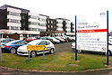 20040401     Copyright Pic : James Stewart.File Name : jspa10_hospital_row.GENERAL VIEW OF STIRLING ROYAL INFIRMARY....James Stewart Photo Agency 19 Carronlea Drive, Falkirk. FK2 8DN      Vat Reg No. 607 6932 25.Office     : +44 (0)1324 570906     .Mobile  : +44 (0)7721 416997.Fax         :  +44 (0)1324 570906.E-mail  :  jim@jspa.co.uk.If you require further information then contact Jim Stewart on any of the numbers above.........