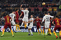 Mauro Icardi of Internazionale scores goal of 1-2 during the Serie A 2018/2019 football match between AS Roma and FC Internazionale at stadio Olimpico, Roma, December, 2, 2018 <br />  Foto Andrea Staccioli / Insidefoto