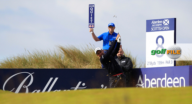 Edward Molinari (ITA) during the first round of the Aberdeen Asset Management Scottish Open 2016, Castle Stuart  Golf links, Inverness, Scotland. 07/07/2016.<br /> Picture Fran Caffrey / Golffile.ie<br /> <br /> All photo usage must carry mandatory copyright credit (&copy; Golffile | Fran Caffrey)