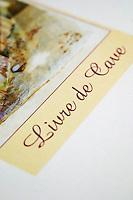 wine list le caveau des arches restaurant beaune cote de beaune burgundy france