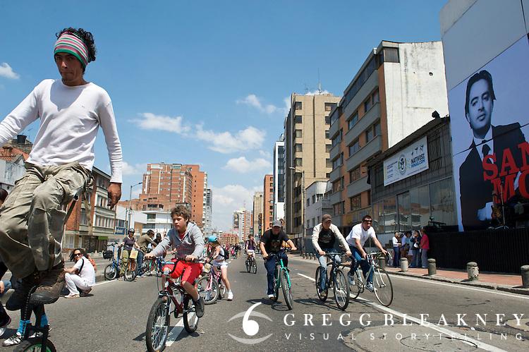 Ciclovia Car-free Street Festival - Bogota - Colombia<br /> DAY 2 &ndash; Sunday 7 June