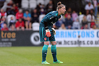 Sari van Veenendaal of Arsenal Women during Arsenal Women vs Manchester City Women, FA Women's Super League FA WSL1 Football at Meadow Park on 12th May 2018