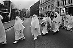 Ancient Order of Druids, City of London. Spring Equinox celebration at Tower Hill. UK 1996