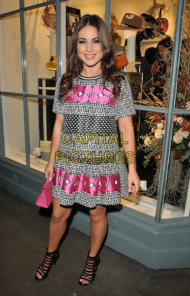 Louise Thompson attends the Jane Taylor flagship store launch party, Jane Taylor, King's Road, London, UK, on Tuesday 01 December 2015.<br /> CAP/CAN<br /> &copy;Can Nguyen/Capital Pictures