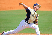 18 March 2012:  FIU pitcher Eddy Pidermann (39) pitches in relief as the Florida Atlantic University Owls defeated the FIU Golden Panthers, 9-3, at University Park in Miami, Florida.