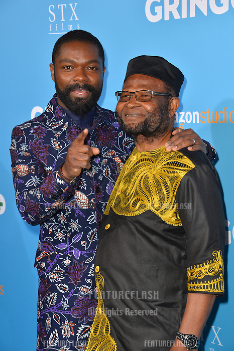 David Oyelowo &amp; Stephen Oyelowo at the world premiere for &quot;Gringo&quot; at the L.A. Live Regal Cinemas, Los Angeles, USA 06 March 2018<br /> Picture: Paul Smith/Featureflash/SilverHub 0208 004 5359 sales@silverhubmedia.com
