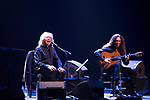 Jose Merce (l) and guitarist Tomatito during their concert in Teatro Real. July 30, 2019. (ALTERPHOTOS/Francis González)