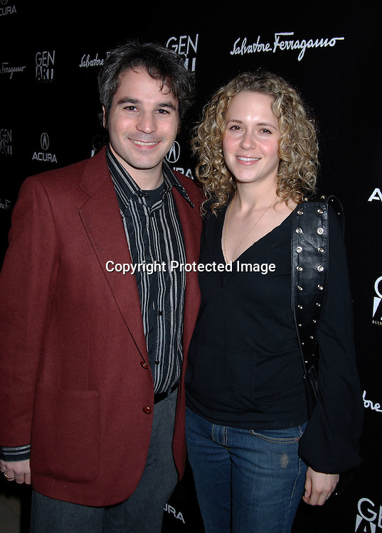 Jeff Abramson and Dana Varon ..at The Launch Party for the 11th Annual Gen Art Film Festival hosted by Salvatore Ferragamo on March 29, 2006..at Salvatore Ferragamo Store on Fifth Avenue. ..Robin Platzer, Twin Images