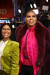 "Cookie Johnson, EJ Johnson attends the Broadway Opening Night Performance of ""To Kill A Mockingbird"" on December 13, 2018 at The Shubert Theatre in New York City."