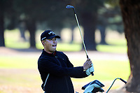Woonchul Na. Day one of the Jennian Homes Charles Tour / Brian Green Property Group New Zealand Super 6's at Manawatu Golf Club in Palmerston North, New Zealand on Thursday, 5 March 2020. Photo: Dave Lintott / lintottphoto.co.nz