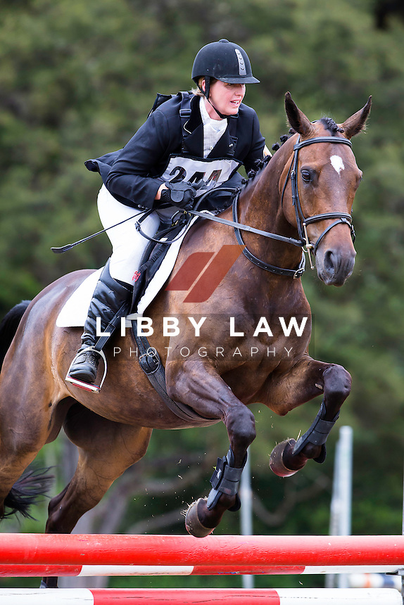 NZL-Rachel Walsh (LACROSSE) 2015 NZL-Hunua Pony Club ODE (Saturday 31 January) CREDIT: Libby Law COPYRIGHT: LIBBY LAW PHOTOGRAPHY