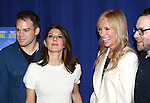 Michael C. Hall, Marissa Tomei, Toni Collette and Director Sam Gold attending 'The Realistic Joneses'  Meet & Greet  at The New 42nd Street Studios on February 20, 2014 in New York City.