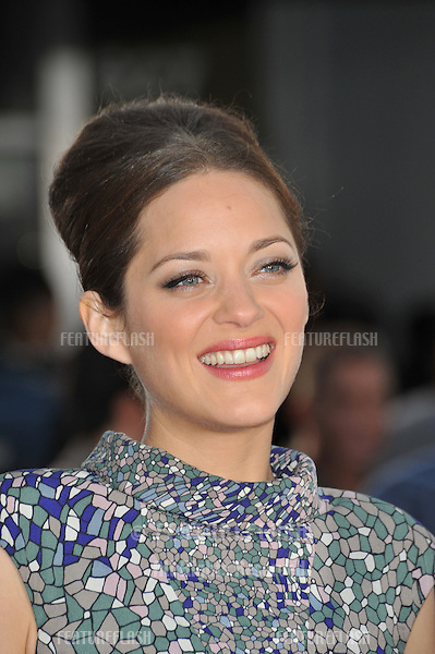 "Marion Cotillard at the Los Angeles premiere of her new movie ""Public Enemies"" at Mann Village Theatre, Westwood..June 23, 2009  Los Angeles, CA.Picture: Paul Smith / Featureflash"