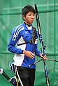 Naoya Oniyama (JPN), .April 22, 2012 - Archery : .Archery Japan National Team Selection match for The World Cup Ogden 2012 .at JISS Archery Field, Tokyo, Japan. .(Photo by Daiju Kitamura/AFLO SPORT) [1045]