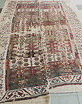 Badly exposed photo ... but gives a reasonable idea of the complete kilim