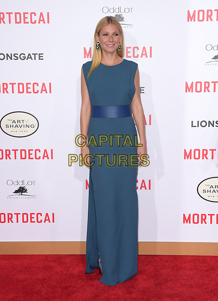 Gwyneth Paltrow attends The Mortdecai Los Angeles Premiere held at The TCL Chinese Theater  in Hollywood, California on January 21,2015                                                                               <br /> CAP/DVS<br /> &copy;DVS/Capital Pictures