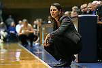 07 January 2016: Duke head coach Joanne P. McCallie. The Duke University Blue Devils hosted the Wake Forest University Demon Deacons at Cameron Indoor Stadium in Durham, North Carolina in a 2015-16 NCAA Division I Women's Basketball game. Duke won the game 95-68.