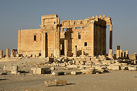 Sanctuary of Bel Marduk, chief Mesopotamian deity, built 3rd century BC - 1st century AD, Palmyra, Syria Picture by Manuel Cohen