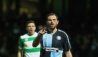 Paul Hayes of Wycombe Wanderers during the Sky Bet League 2 match between Yeovil Town and Wycombe Wanderers at Huish Park, Yeovil, England on 24 November 2015. Photo by Andy Rowland.