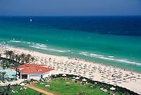 TUN, Tunesien, Sousse: Strand | TUN, Tunisia, Sousse: beach