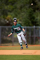 Michigan State Spartans shortstop Royce Ando (13) during a game against the Illinois State Redbirds on March 8, 2016 at North Charlotte Regional Park in Port Charlotte, Florida.  Michigan State defeated Illinois State 15-0.  (Mike Janes/Four Seam Images)