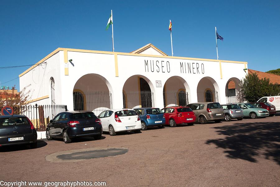 Museo Minero mining museum in Rio Tinto  mining area, Minas de Riotinto, Huelva province, Spain