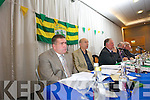 New Chairman Patrick O'Sullivan at the County Board Meeting on Monday night at the Malton Hotel Killarney.